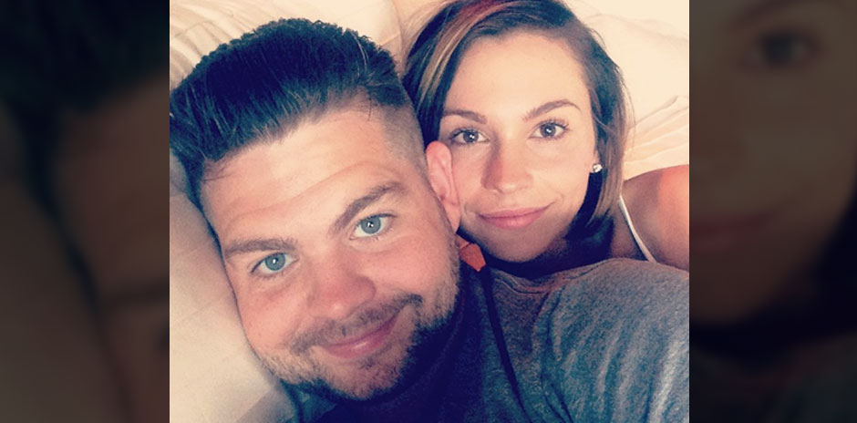 Jack Osbourne and his wife Lisa