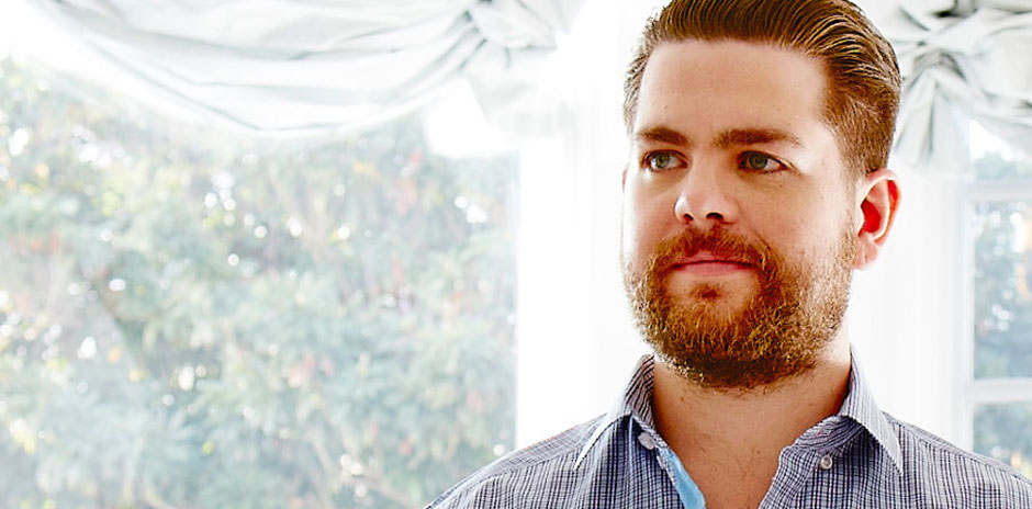 Jack Osbourne by a window